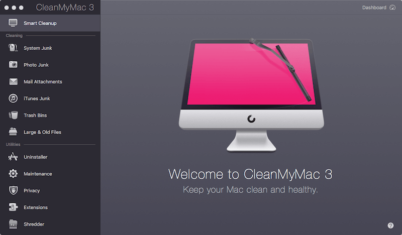 CleanMyMac Scan my Macbook